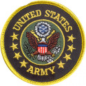 US Army Round Patch (3 Inches)