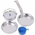 Aluminum 5 Piece Campers Mess Kit