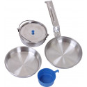 Aluminum 5 Piece Deluxe Mess Kit