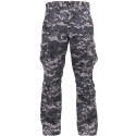 Subdued Urban Digital Camouflage Vintage Military Paratrooper BDU Pants