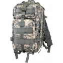 ACU Digital Camouflage Military MOLLE Medium Transport Backpack