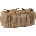 Coyote Brown MOLLE Convertible Tactical Shoulder Bag & Waist Butt Pack