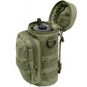 Olive Drab MOLLE Travel Water Bottle Carry Pouch