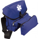 Royal Blue EMT EMS Star of Life Professional Medical Field Kit Bag