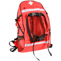 Red Tactical EMS Law Enforcement First Aid Trauma Kit Backpack