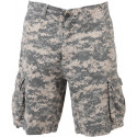 ACU Digital Camouflage Vintage Military Infantry Utility Shorts