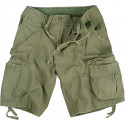 Olive Drab Vintage Military Infantry Utility Shorts