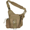 Coyote Brown Military MOLLE Advanced Tactical Shoulder Bag