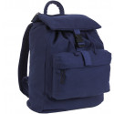 Navy Blue Canvas Daypack Backpack