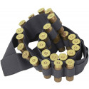 Black Shotgun Ammo Shell Bandoleer