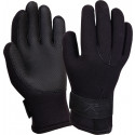 Black Insulated Waterproof Cold Weather Neoprene Gloves