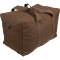 Earth Brown Military Parachute Cargo Bag