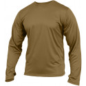 Coyote Brown Military Generation III ECWCS Silk Weight Thermal Shirt
