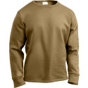 Coyote Brown ECWCS Cold Weather Crew Neck Shirt Thermal Top Undershirt