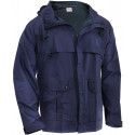 Navy Blue Waterproof Microlite Lightweight Rain Jacket
