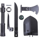 5 in 1 Multi Purpose Military Heavy Duty Tool Set with Shovel, Saw, Axe, Pick & Compass
