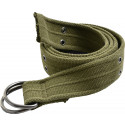 Olive Drab Heavy Duty Thick Military D-Ring Belt