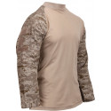 Desert Digital Camouflage Tactical Airsoft Combat Shirt