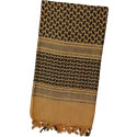 Coyote Brown Shemagh Lightweight Arab Tactical Military Desert Keffiyeh Scarf