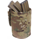 Multi Cam Military Roll Up MOLLE Utility Dump Pouch Bucket