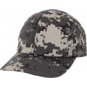 Kid's Subdued Urban Digital Camouflage Low Profile Adjustable Cap