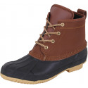 Two Tone Waterproof Duck Style All Weather Boots