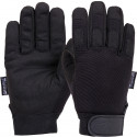 Black Insulated All Purpose Cold Weather Gloves