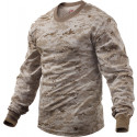 Desert Digital Camouflage Tactical Long Sleeve Military T-Shirt