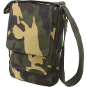 Woodland Camouflage Vintage Military Canvas Tactical Tech iPad Shoulder Bag