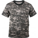 Subdued Urban Digital Camouflage Military Short Sleeve T-Shirt