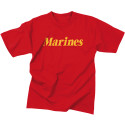 Red Marines Official USMC Short Sleeve T-Shirt