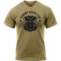 Coyote Brown Terrorist Hunting Club T-Shirt