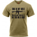 Coyote Brown This is my Rifle T-Shirt