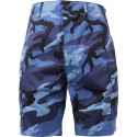 Sky Blue Camouflage Combat Military Cargo BDU Shorts