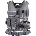 ACU Digital Camouflage Military Tactical Cross Draw Vest