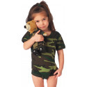 Woodland Camouflage One Piece Infant Bodysuit