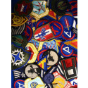 Assorted GI Military Patches Set