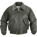 Sage Green US Air Force CWU-45P Tactical Military Flight Jacket