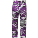 Ultra Violet Camouflage Military Cargo BDU Fatigue Pants
