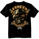 Black Ink Design USMC We Fight What You Fear T-Shirt