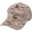 Desert Digital Camouflage Supreme Military Low Profile Baseball Cap