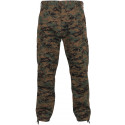 Woodland Digital Camouflage Military Cargo BDU Fatigue Pants