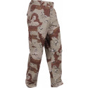 Desert Camouflage Six Color Military Cargo BDU Fatigue Pants