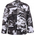 City Camouflage Military BDU Fatigue Shirt