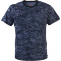 Midnight Blue Digital Camouflage Military Short Sleeve T-Shirt
