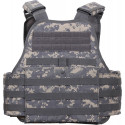 ACU Digital Military MOLLE Tactical Plate Carrier Assault Vest
