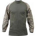ACU Digital Camouflage FR NYCO Heat Resistant Tactical Combat Shirt