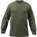 Olive Drab Military Heat Resistant Tactical Lightweight Combat Shirt