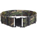 Woodland Camouflage Marine Corps Style Quick Release Pistol Belt