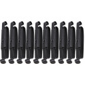Black Genuine GI Military Alice Keeper Clip Belt Slides 10 Pack
